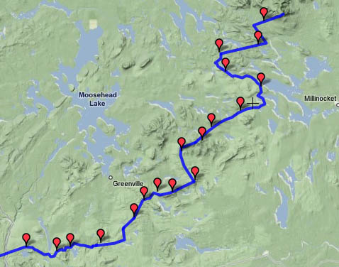 at backpacking journal hiking record